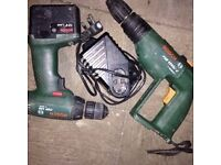 bosch 12v cordless x2 ,with charger