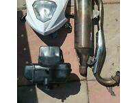 Lexmoto/pulse/Sinnis front light unit and origional airbox
