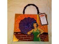 Vintage Bueno 'Wearable Art' Ladies Bag/Cigar Case.