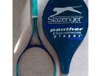 Slazenger Panther Player Tennis Racket with Carry Bag