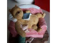 Pooh Sleeping Figure.