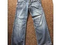 FCUK loose Fit Jeans W34 L32