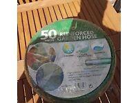 New 50m Reinforced Garden Hose