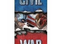 Civil War Towel Iron Man Vs Captain America