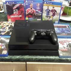 PlayStation 4 & games & blu-rays