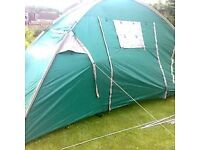 halfords large 4 person tent