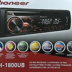 pioneer radio cd usb in car player Radio CD+USB Pioneer DEH-1800UB