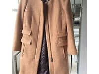 Ladies Next Beige wool Coat