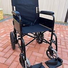 Bariatric Steel Travel Wheelchair RRP 223