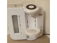 tommee tippee steraliser, prep machine and bottle warmer.