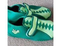 Playshoes Boys UV Protection Aqua Shoe Crocodile