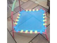 Kids single trampoline