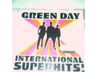 green day cd international superhits cd,never played