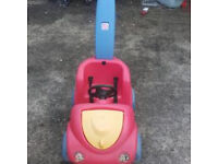 KIDS SMALL CAR WITH HANDLE
