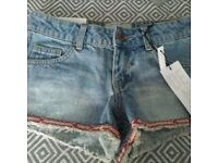 New Look Girls Shorts Brand New Age 11