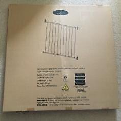 BabyStart Single Panel Metal Wall Fix Gate