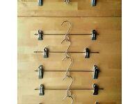 metal clip hangers