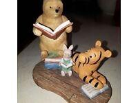 Pooh Reading Figure