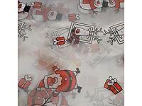 10m + Santa & Snowman Cellophane wrap