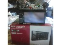 Pioneer AVH-2400BT Radio/DVD Player With Bluetooth