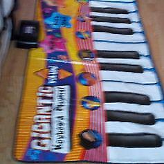Gigantic musical kids piano keyboard play mat