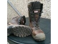 Men's size 10 1/2 Oregon safety boots