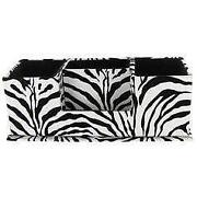 Delightful Zebra Print Office Supplies
