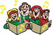 Looking for Christmas Carollers to sing for 1/2 hr
