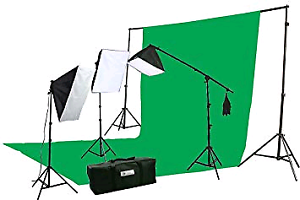 Soft box kit with green screen