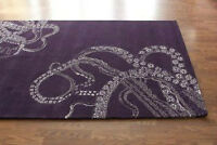 AREA RUG-Octopus Tail design-as featured in CL magazine