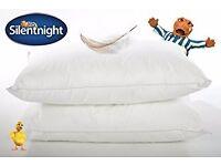Two silentnight feather pillows