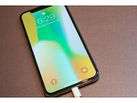 Iphone x 64 gig space grey unlocked