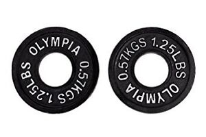 WANTED!! Olympic 1.25 lbs weight plates