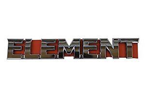 GENUINE HONDA OEM REAR ELEMENT EMBLEM (75722-SCV-A10)