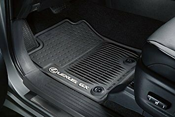 Lexus Genuine GX460 All Weather Floor Mat Set Black 2014 2017 NEW