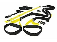 Almost new TRX Suspension Trainer with DVD