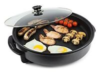VonShef 1500 Watt Multi Cooker with Large 42cm Diameter Electric Frying Pan