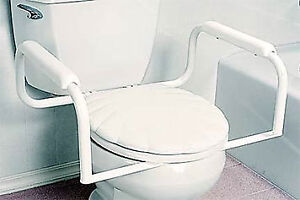 Easy-Install Toilet Safety Bar