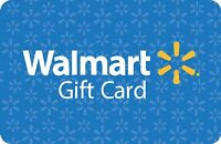 $1000 WALMART GIFT CARD FOR $900