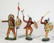 Elastolin 7 cm Indianer
