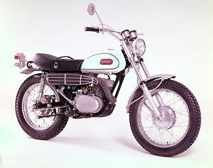 Vintage Yamaha Enduro Motorcycles For Sale