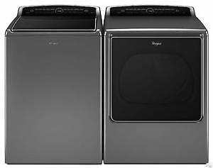 Whirlpool Cabrio washer and dryer /Laveuse secheuse