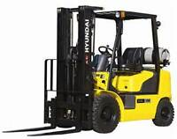 Experienced Forklift Driver Required