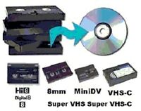 Gift Idea Transfer Video Audio Photos to DVD/CD/Blue-Ray/USB/MP3