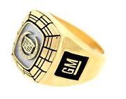 Vintage Mens Gold Rings