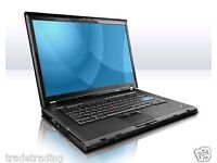 Fast Lenovo ThinkPad T400 Laptop Core 2 Duo@ 2.26GHz 2GB 160 HDD