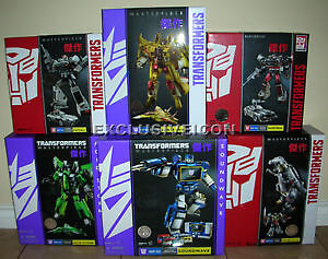 Transformers Hasbro Masterpiece Complete Series 1 through 7 MISB
