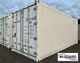 Refrigerated container to rent 10 foot and 20 foot available. Cold room refrigerated storage