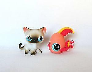 littlest pet shop siamese cat ebay