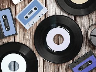 Música, CDs y vinilos